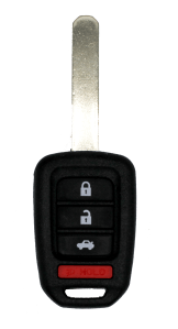 Honda Remote head key with 4 buttons