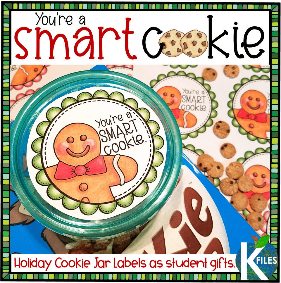"Student Holiday Gift: ""You're A Smart Cookie"" Jar"