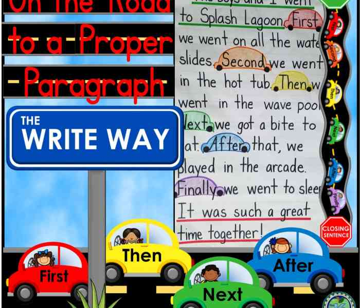 On the Road to a Proper Paragraph
