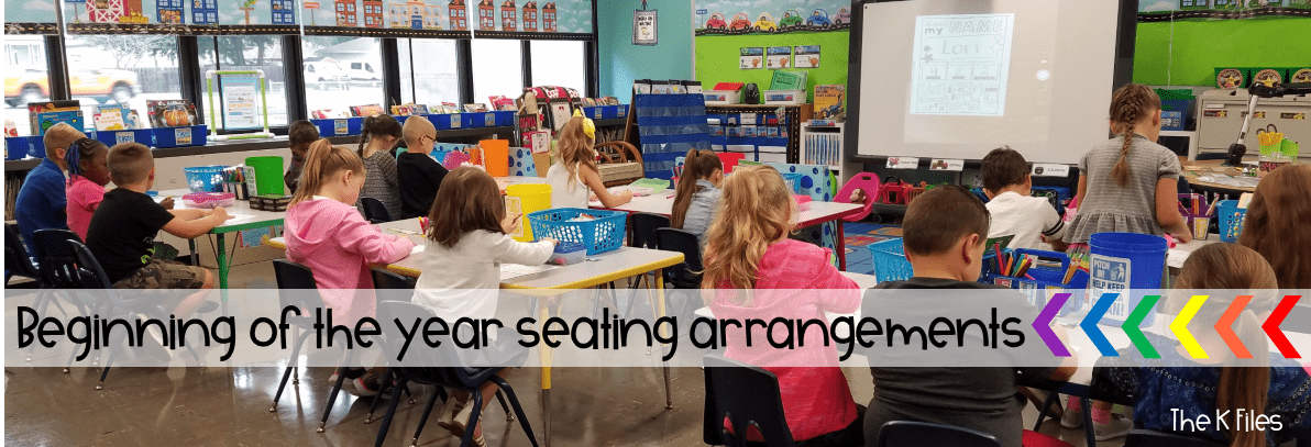 Classroom Layout that provides organization and behavior management at the the start of the new year and Back To School. Classroom Management hack. Thinking outside the box with your classroom furniture