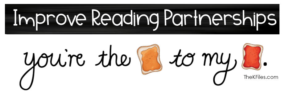"Do your reading partners often have a tough time getting started? Improve Reading Partnerships during your Reader's Workshop with this ""We Go Together"" theme for Reading Buddies. Your students will no longer debate who picks the book or how to read together! A highly effective Readers Workshop routine and procedure."