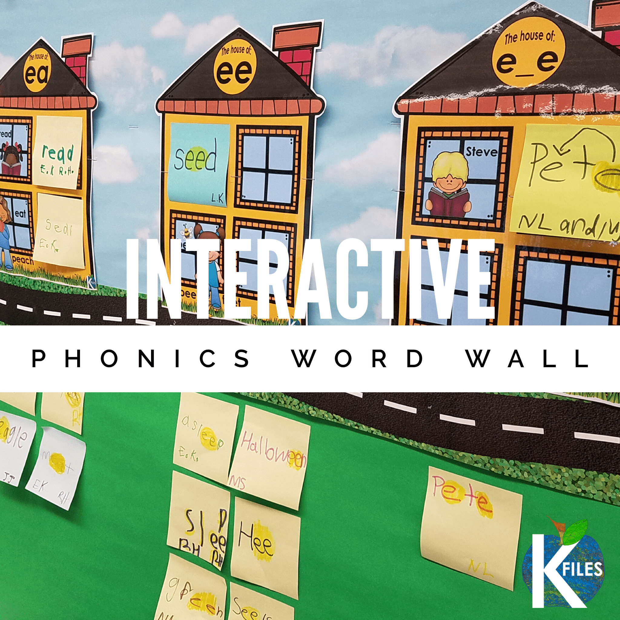Is your Word Wall just taking up space? Are you concerned that your Word Wall decor is simply that...decor? The Interactive PHONICS word wall is a trending new approach to Word Wall activities in the primary grades. Word Wall activities are countless with this approach to phonics instruction. Check it out, your kindergarten, first grade and second grade students will flourish with interaction with your Word Wall ideas. #wordwall #firstgrade