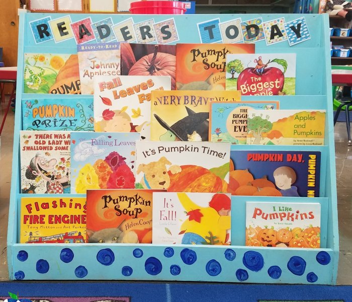 Bookshelf Makeover for my Readers Today, Leaders Tomorrow!