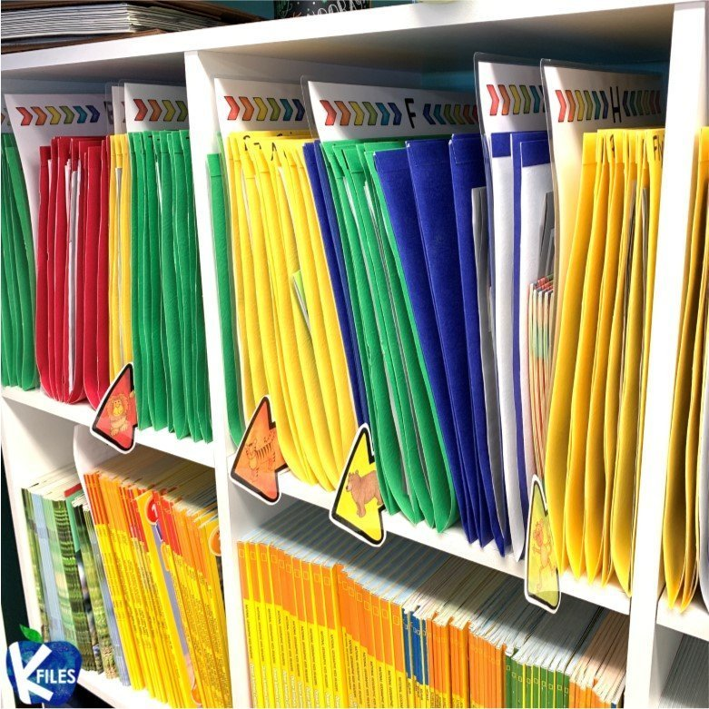 Guided Reading Organization Tips for Your Leveled Readers