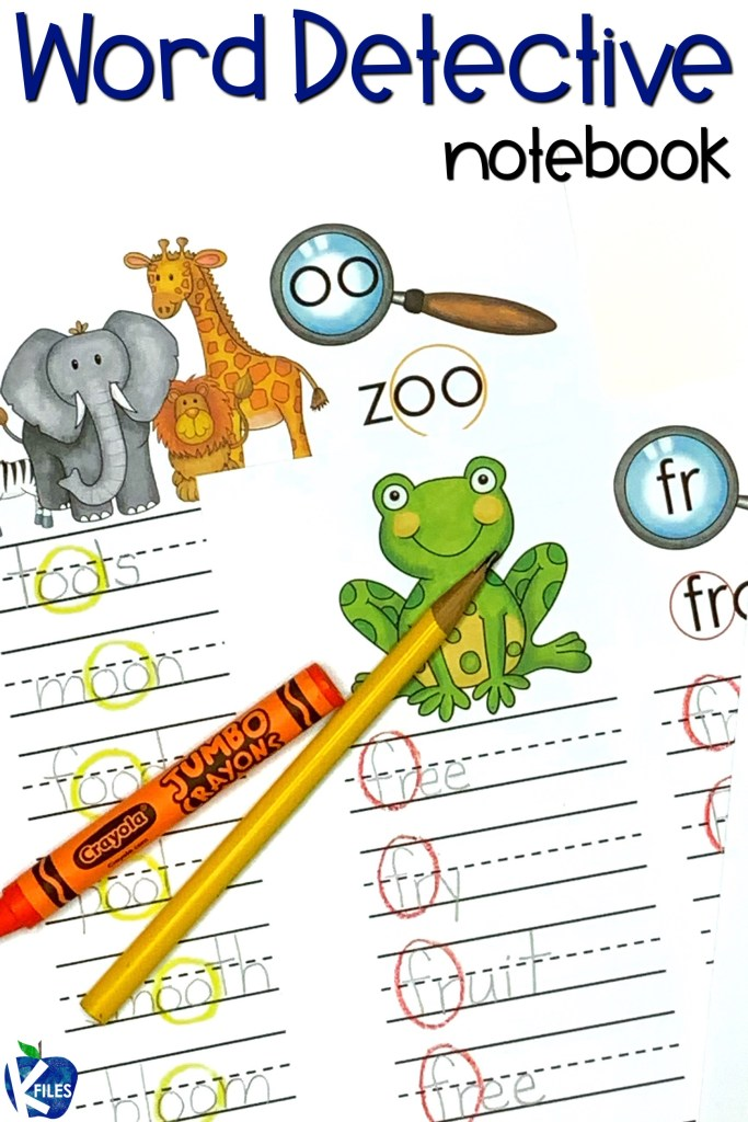 Word Detective Phonics Notebook