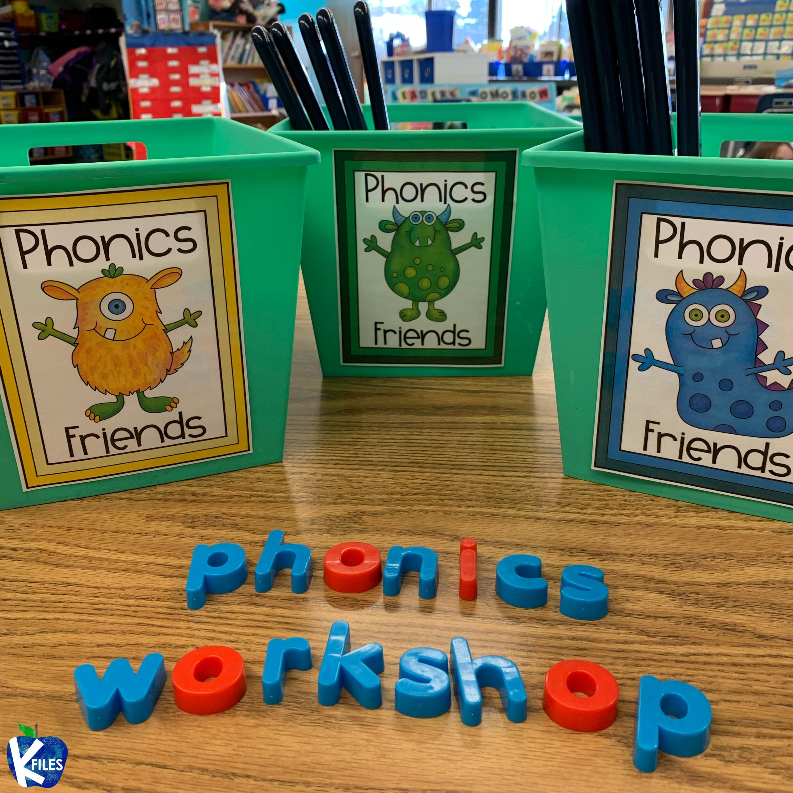 Phonics Workshop: How to Organize it all