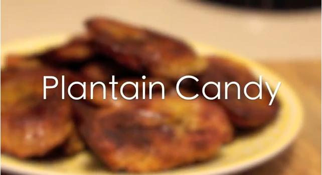 Plantain Candy