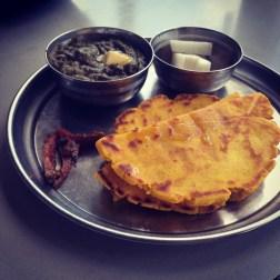 Makhi Di Roti and Sarson Ka Saag
