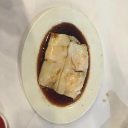 Prawn Rice Noodles in Soya Sauce