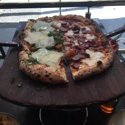 0.5 Metre Pizza - Qauttro Salumi and Via Napoli