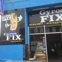 Gyros Fix Exterior