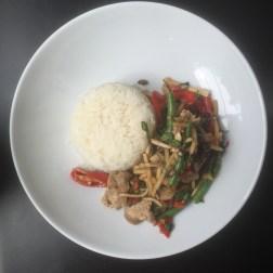 Beef, Thai Basil