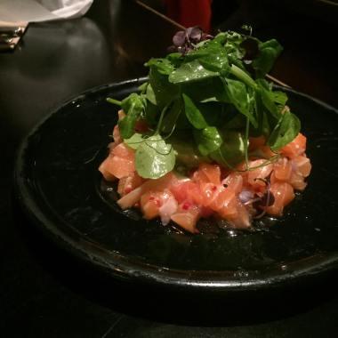 Atlantic Salmon Crudo