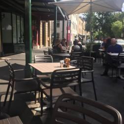 The Rocks Cafe Exterior