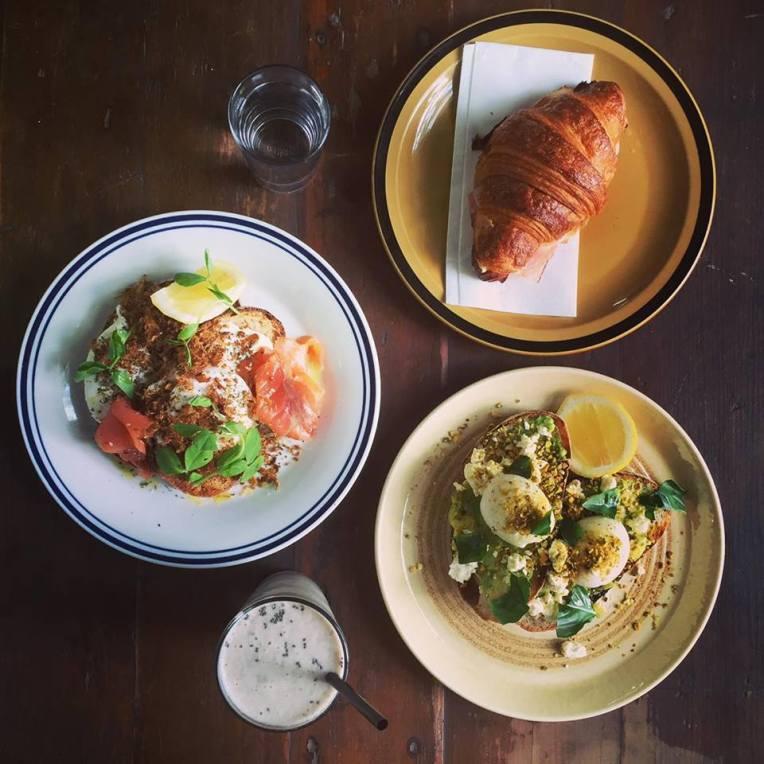 Entire Breakfast at Grain Organic Bakery