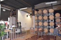 Barrels at Hope Estate