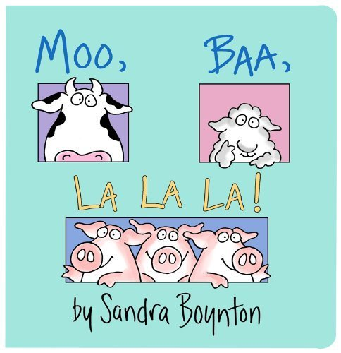 Moo Baa La La La - The Best Books for 1 Year Olds