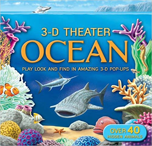 3D Theater: Oceans - Children's Books about the Ocean