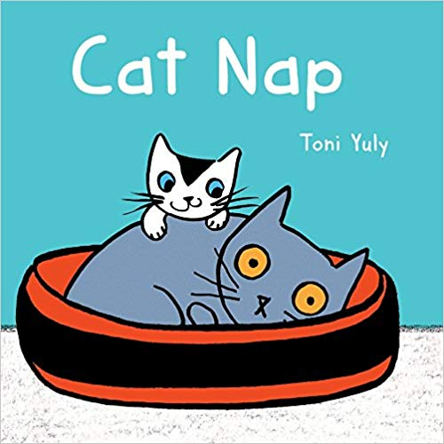 Cat Nap Board Book - Featured on a book list of cat books for kids