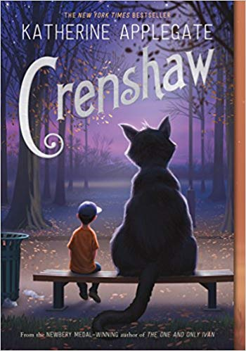 Crenshaw - Featured on a book list of cat books for kids