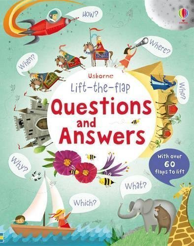 Lift the Flap Questions & Answers Book - nature book