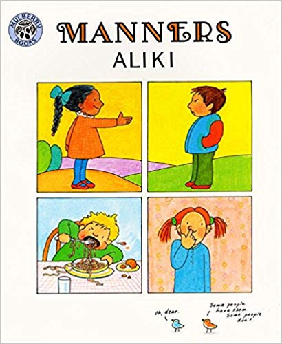 Manners  - Children's Books on Manners