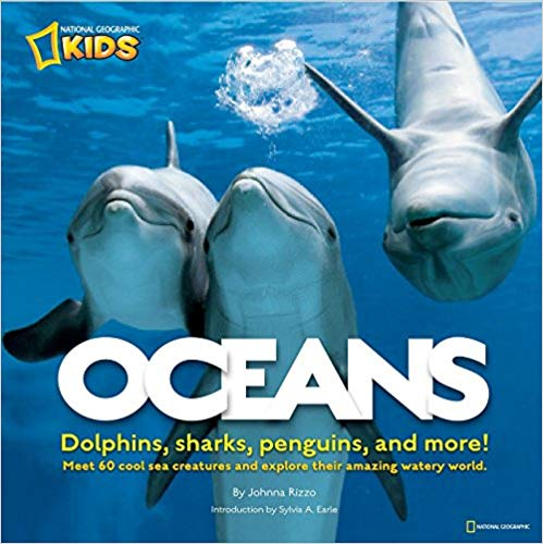 Oceans: Dolphins, sharks, penguins, and more! - Children's Books about the Ocean