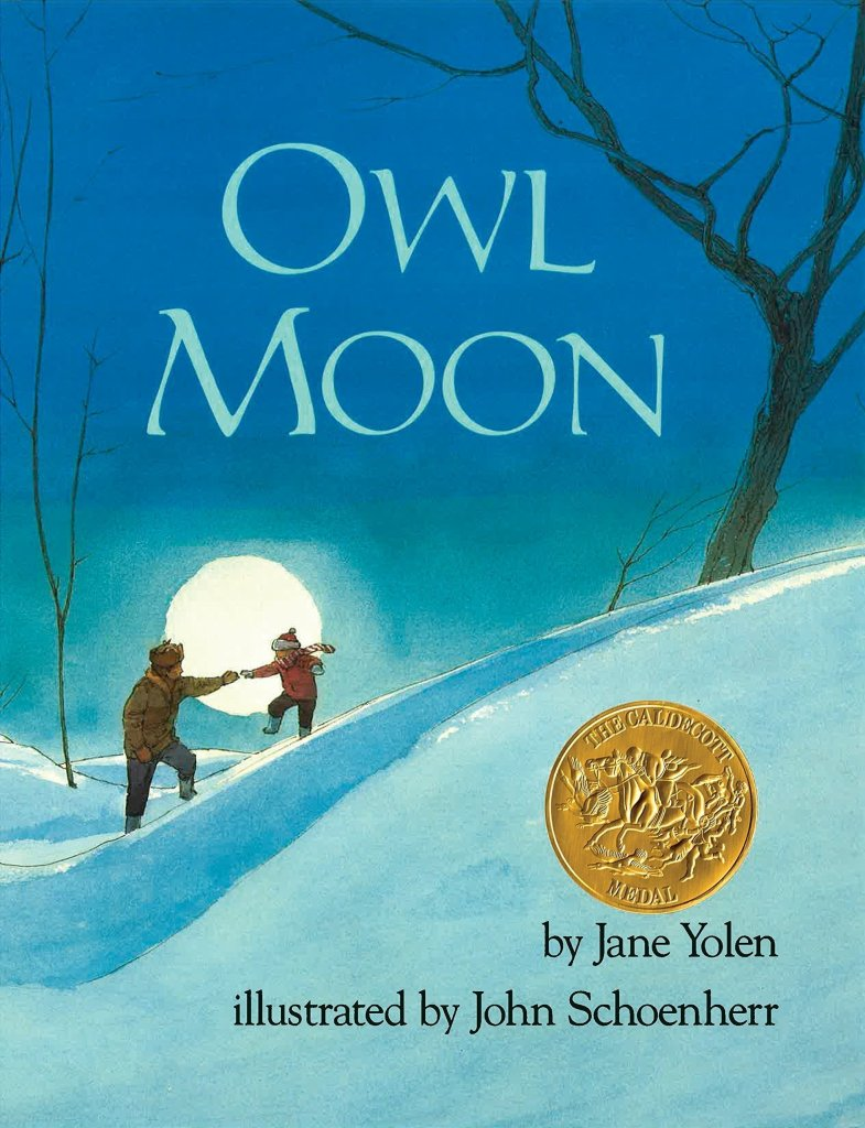 Owl Moon Book - children's book about nature