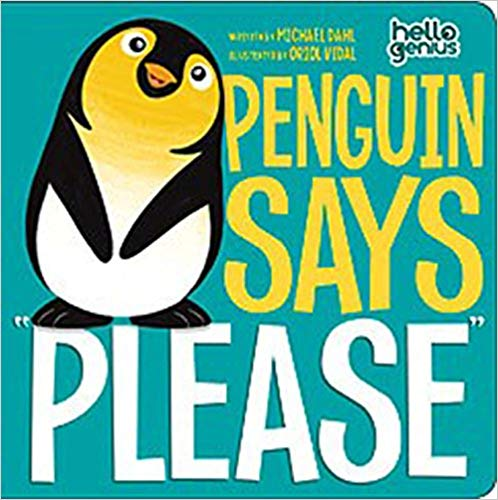 Penguin Says Please Hello Genius Book - Children's Books on Manners