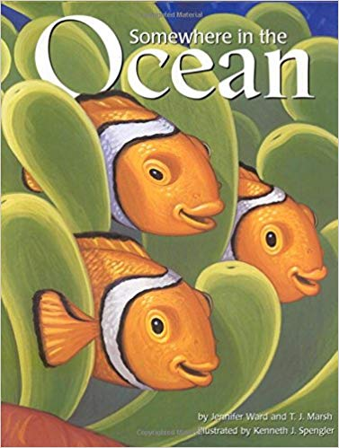Somewhere in the Ocean - Children's Books about the Ocean