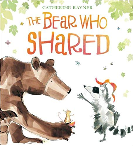 The Bear Who Shared Book  - Children's Books on Manners