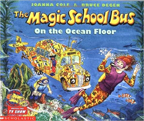 The Magic School Bus on the Ocean Floor by Joanna Cole - Children's Books about the Ocean