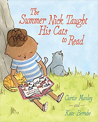 The Summer Nick Taught His Cat to Read - Featured on a book list of cat books for kids