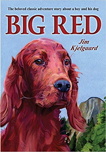 Big Red by Jim Kjelgaard - children's books about dogs
