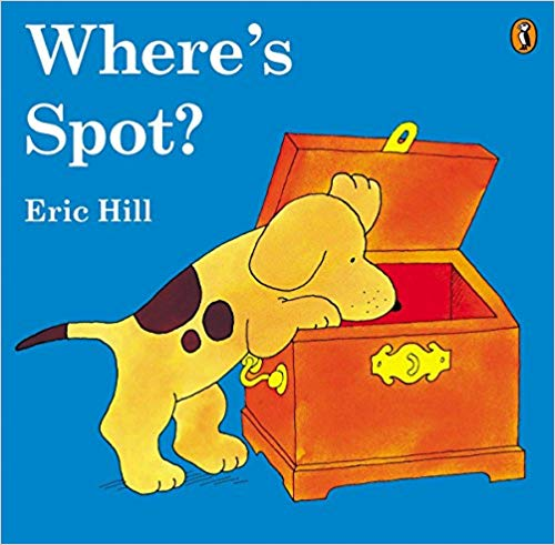 Where's Spot? Eric Hill -  children's books about dogs