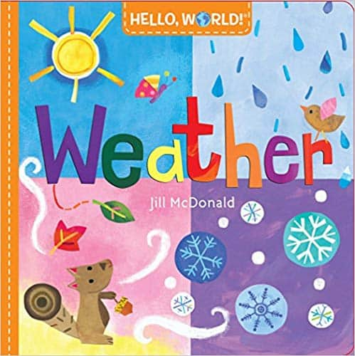 Hello, World! Weather - children's books about the weather