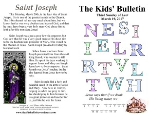 The Kids' Bulletin Lent 3
