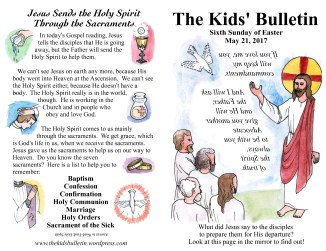 The Kids' Bulletin Easter 6