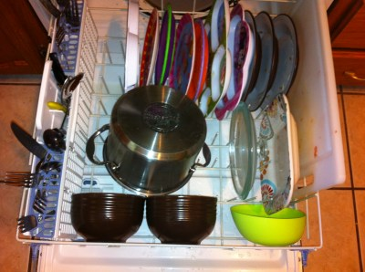 inthedishwasher