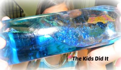 Create Wave Bottles For Summer Fun