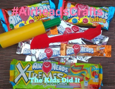 Fun Craft Ideas With Airheads #AirheadsCrafts