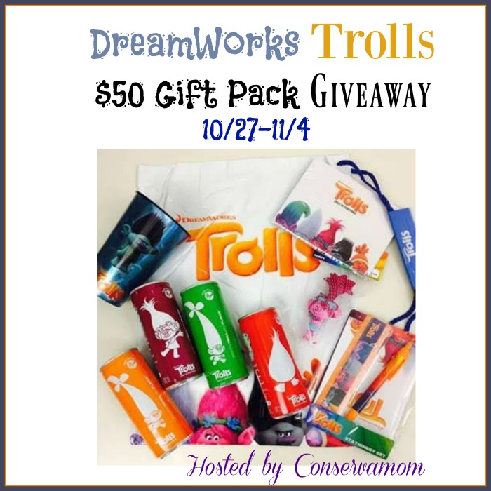 trolls prize package