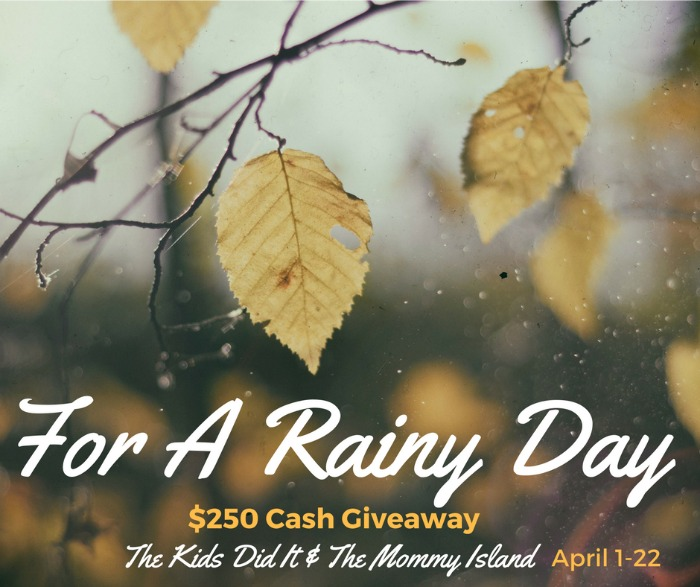 rainy day giveaway
