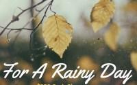 Rainy Day $250 Cash Event