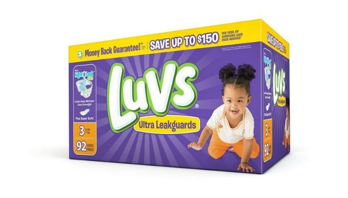 Save On Luvs Diapers With A Print At Home Coupon