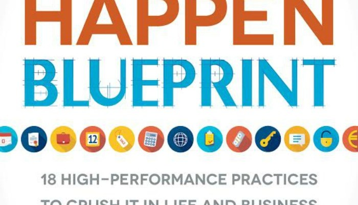 Make It Happen BluePrint Book + $50 Amazon Giveaway