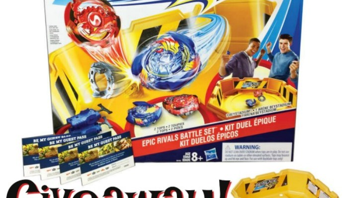 Family Night Presents BeyBlade Burst At Ovations Brand Restaurants!