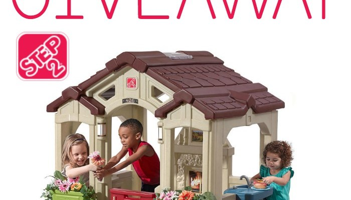 Step2 Charming Cottage Playhouse Giveaway