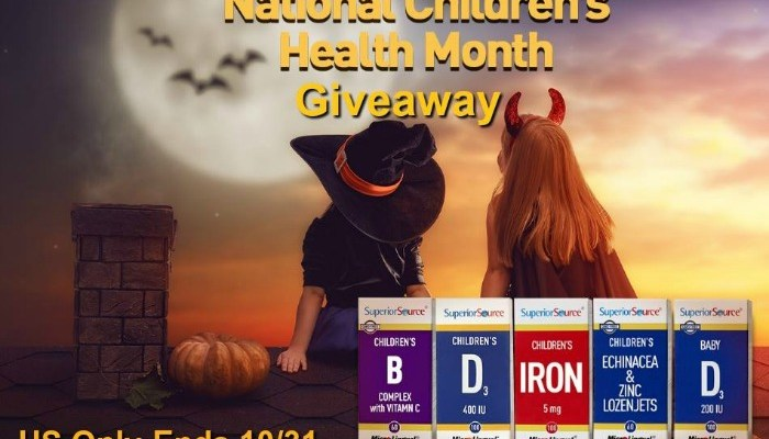 Superior Source Vitamins Giveaway