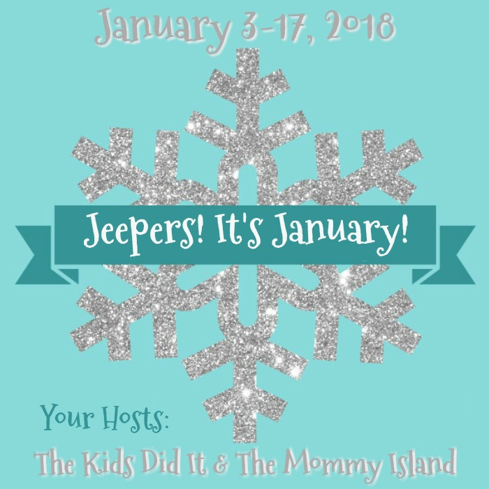 3rd Annual Jeepers! It's January! Giveaway Hop Sign Ups